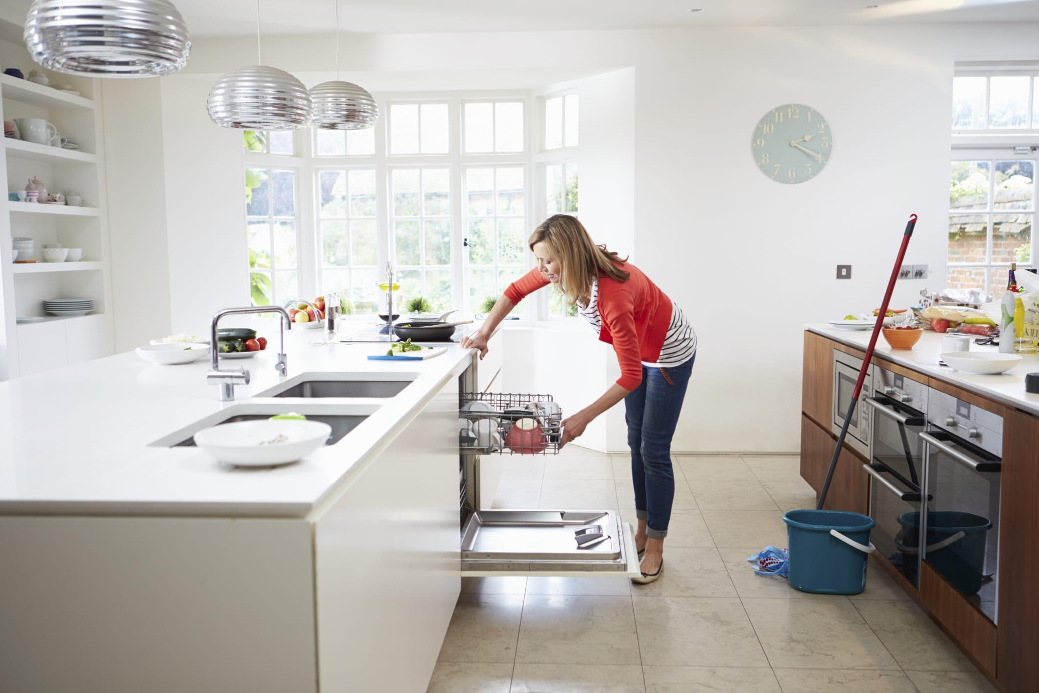 come pulire gli elettrodomestici della cucina - non sprecare