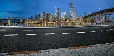 asfalto green riciclato vancouver