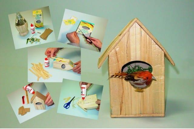 Molto Come fare una casetta per uccellini | foto - Non sprecare SF63