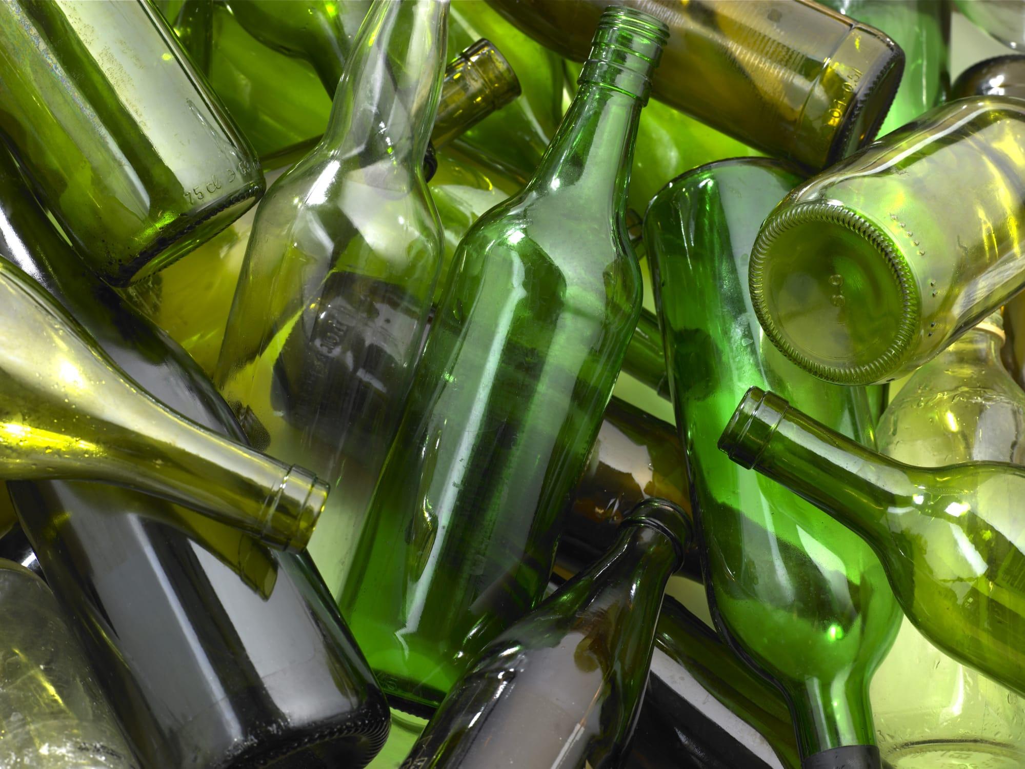 raccolta differenziata monomateriale per incentivare il riutilizzo del vetro