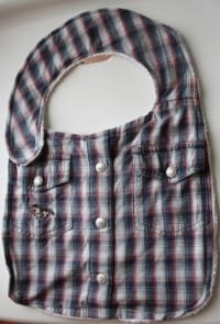 Riciclo vecchia camicia