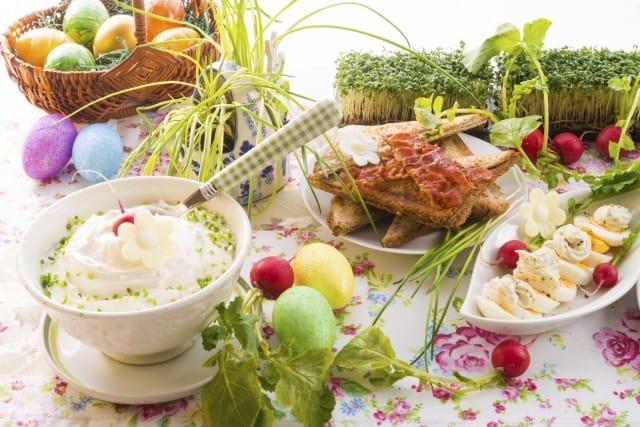 Il pranzo di Pasqua di Non sprecare: ecco come risparmiare e portare in tavola cibo salutare