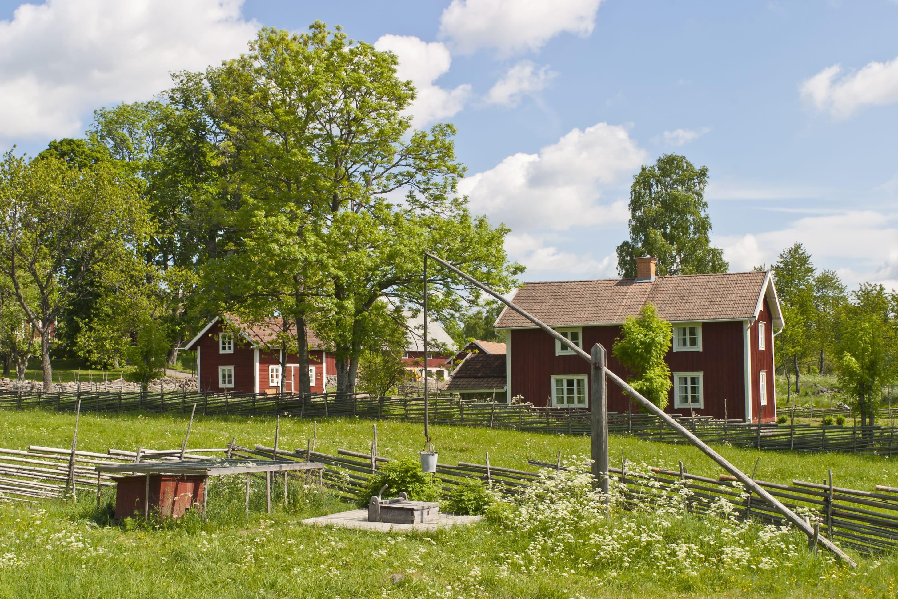 Scopri la vita in campagna 600 fattorie accettano for Foto di fattoria moderna