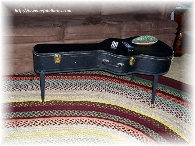 Riciclo creativo chitarra non sprecare for Ganci per appendere chitarre