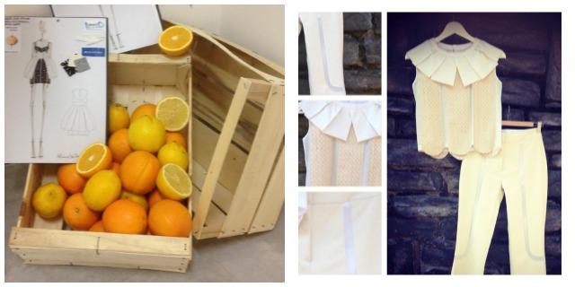 Moda sostenibile: dagli scarti delle arance agli abiti da passerella