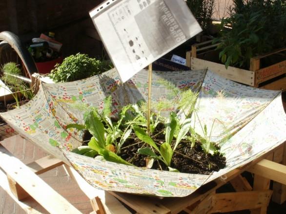 Come decorare il giardino fai da te riciclo e low cost foto non sprecare - Idee giardino casa ...