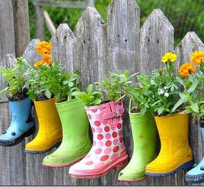 Come decorare il giardino fai da te riciclo e low cost for Idee per il giardino