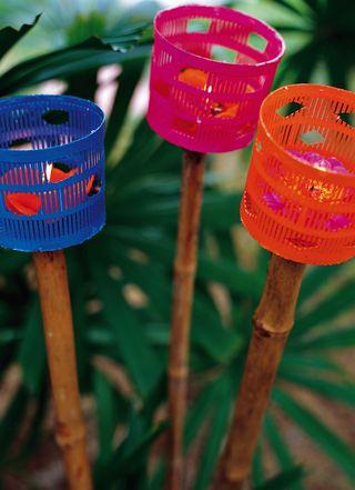 Come decorare il giardino fai da te riciclo e low cost - Oggetti per giardino ...