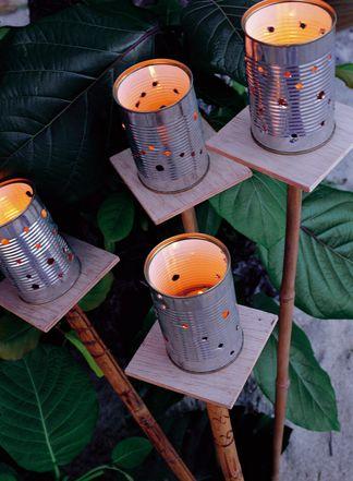 Come decorare il giardino fai da te riciclo e low cost foto non sprecare - Idee per giardino fai da te ...