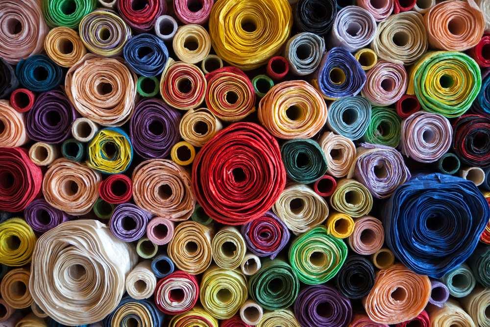 studiare il riciclo dei tessuti