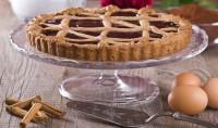 Crostata integrale con la marmellata fatta in casa: un dolce leggerissimo, senza burro, che sorprenderà tutta la famiglia