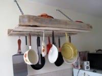 Come si riciclano i bancali in cucina