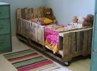 Come si riciclano i bancali: il letto