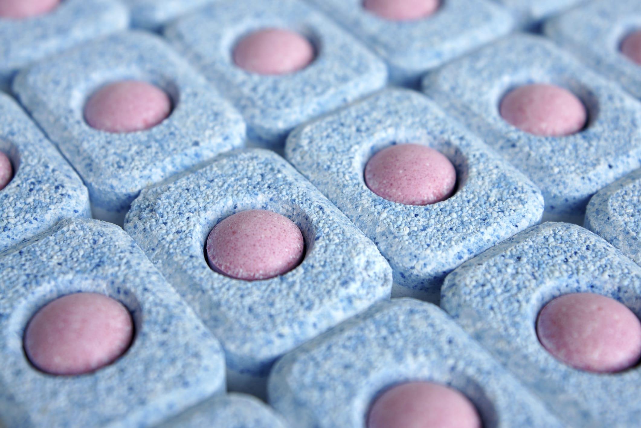 come fare le pastiglie per la lavastoviglie