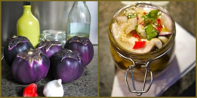 ricetta conserva di melanzane sott'olio