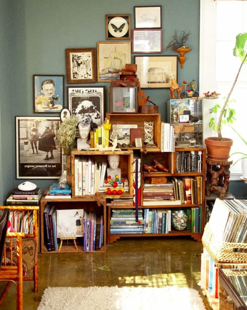 Ben noto Riciclo creativo: come costruire una libreria in cartone | Foto  XB73