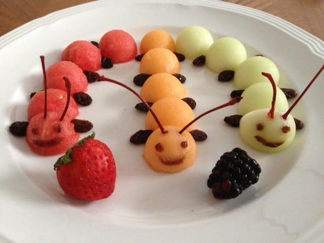 Bruco di frutta