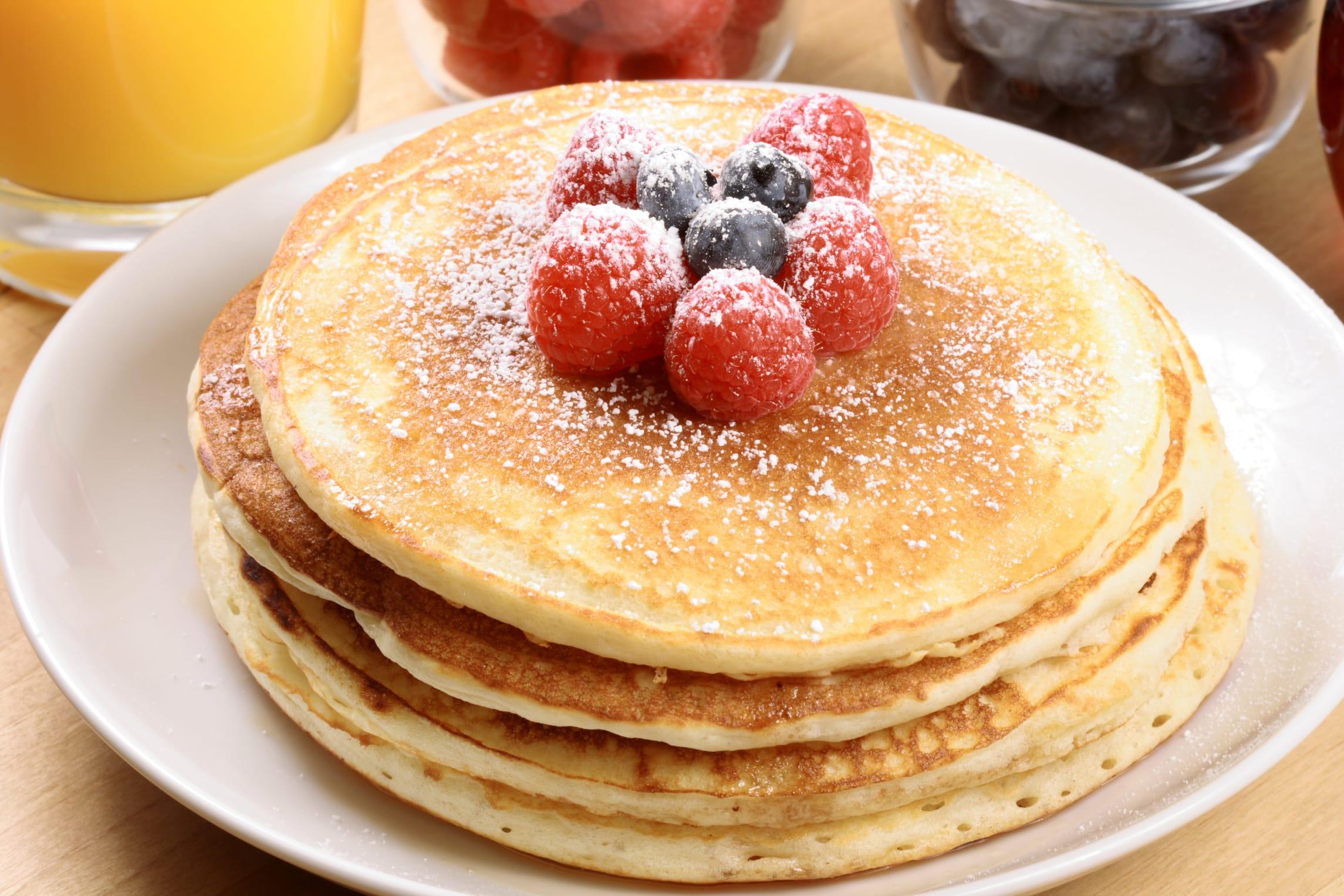 La ricetta per preparare in casa i pancakes