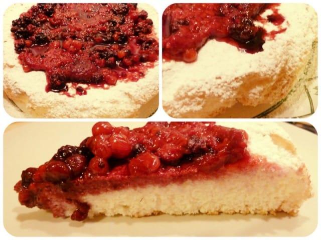 Ricetta torta di albumi ai frutti di bosco