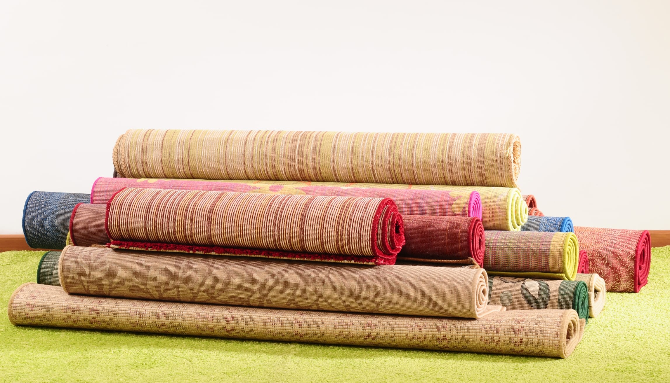riciclo creativo tappeti