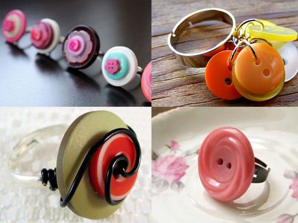 Riciclo creativo bottoni tante idee per decorazioni fai for Idee da creare