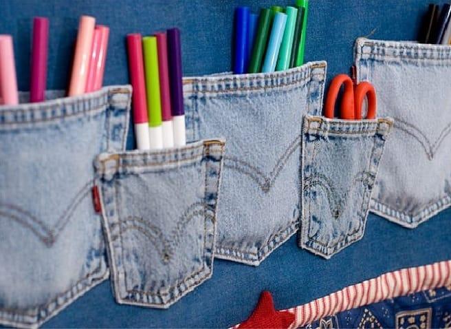 Favoloso Hobby riciclo creativo tutto jeans   Non Sprecare OY86