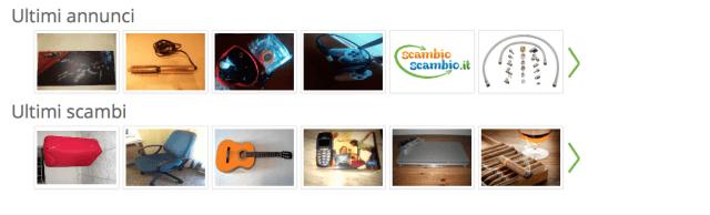 Siti per il baratto online: ScambioScambio.it, dove si scambiano oggetti e competenze