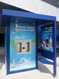 Risparmio di plastica e di denaro: i chioschi dell'acqua