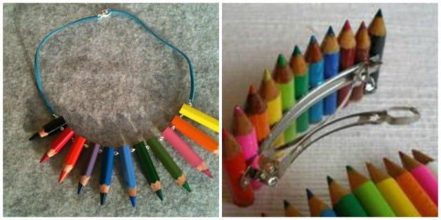 Riciclo creativo matite colorate: tante idee curiose