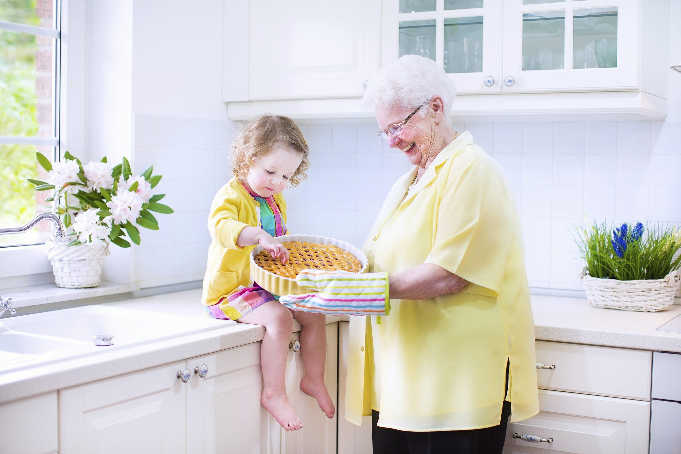 Regali fai da te per la festa dei nonni idee curiose e low cost foto non sprecare - Donazione di una casa a un nipote ...