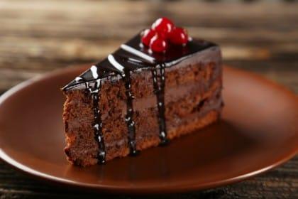 Torta al cioccolato con ganache