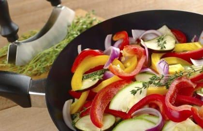 ricetta peperoni in padella