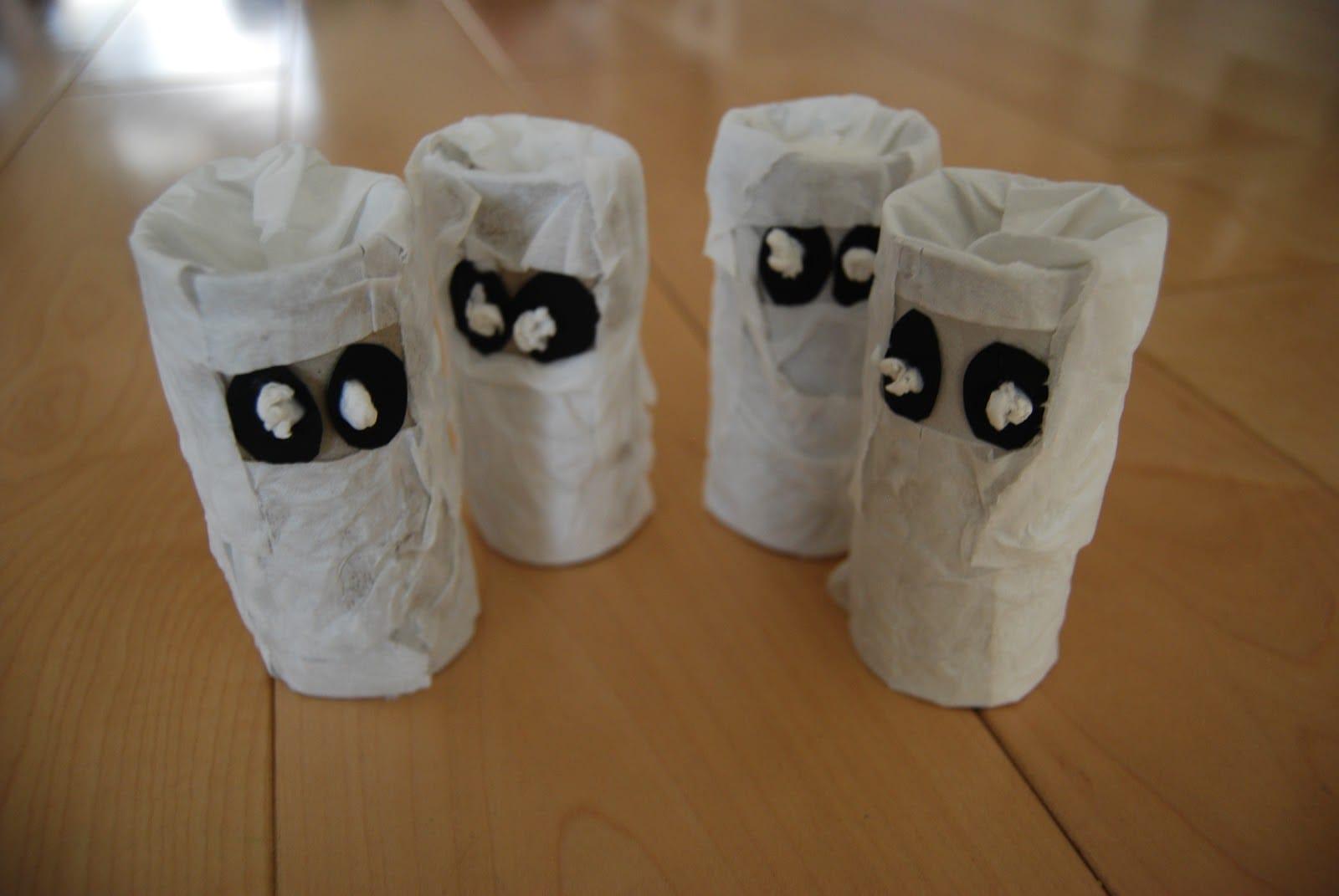 Lavoretti halloween riciclosi fai da te per bambini for Arte del riciclo fai da te