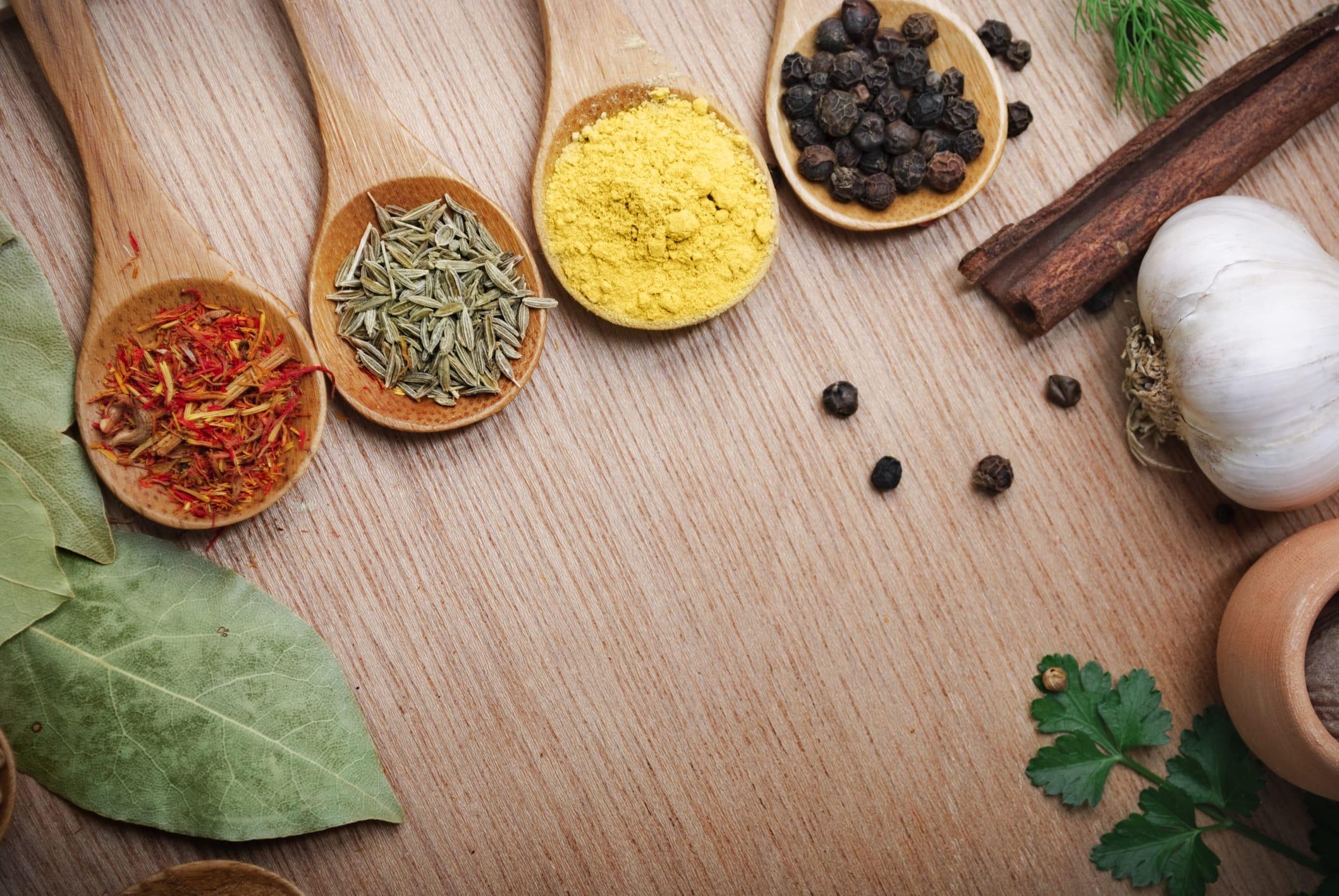 Effetti benefici delle spezie non sprecare - Le spezie in cucina ...