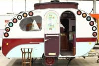 Vacanze low cost roulotte decorata