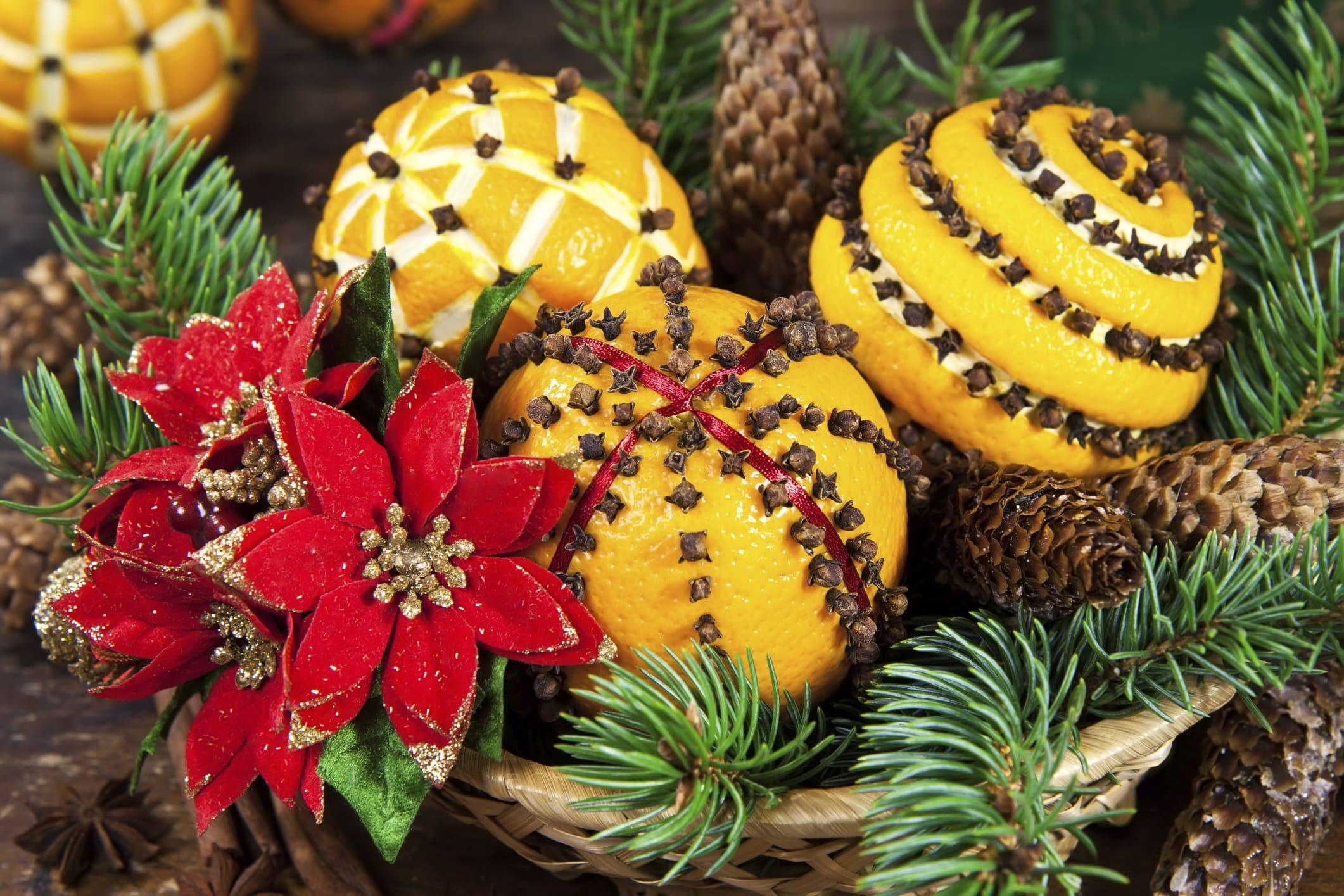 Arance Decorazioni Natalizie.Decorazioni Fai Da Te Per Albero Di Natale Foto Non Sprecare