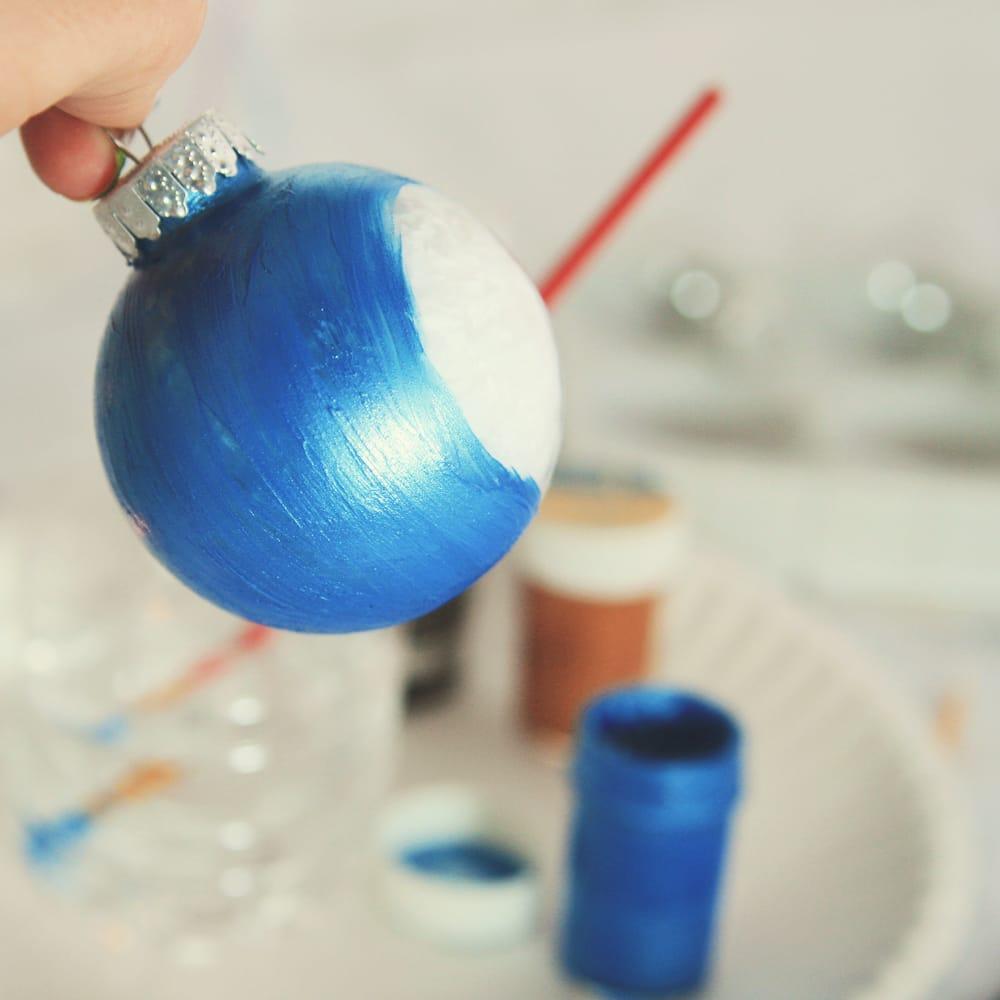 Come realizzare palline di natale fai da te foto non - Decorazioni per camerette bambini fai da te ...