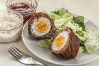 Involtini con le uova sode