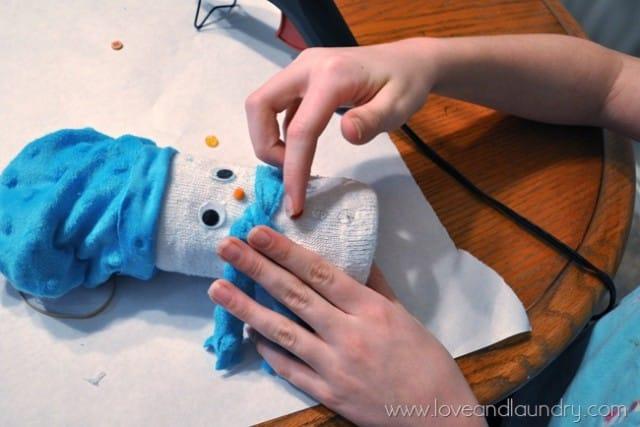 Giochi fai da te per bambini: il pupazzo di neve da realizzare in casa   Foto