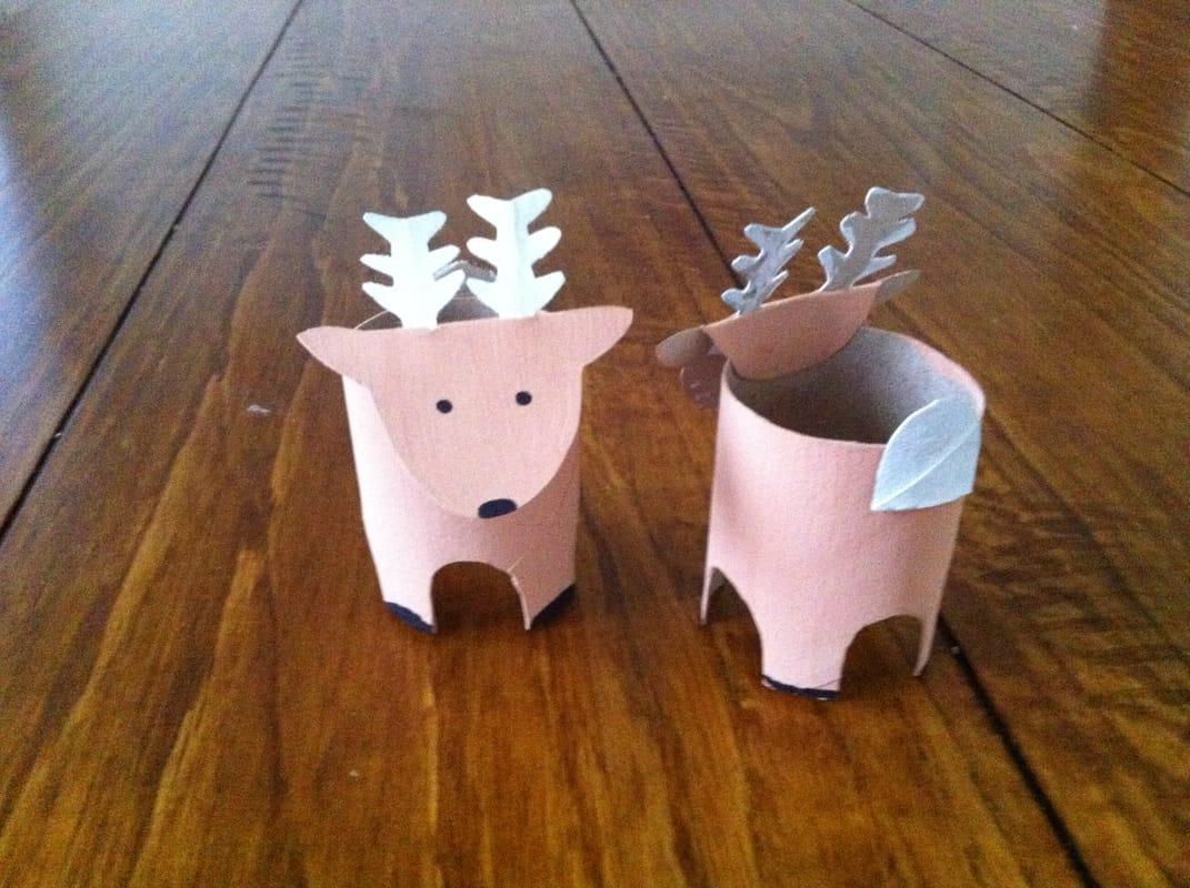 abbastanza Ecco la renna creata con il rotolo della carta igienica | Non Sprecare KN58