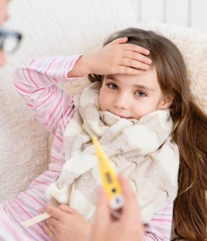 Rimedi naturali contro la febbre dei bambini