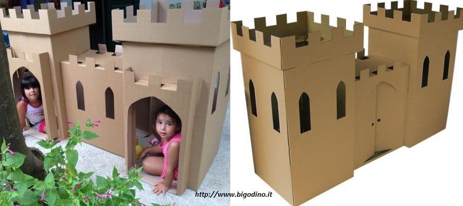 Célèbre Come fare una casetta di cartone per bambini - Non sprecare GQ53