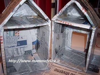 Giochi fai da te per bambini come fare una casetta di - Costruire una casetta di cartone per bambini ...