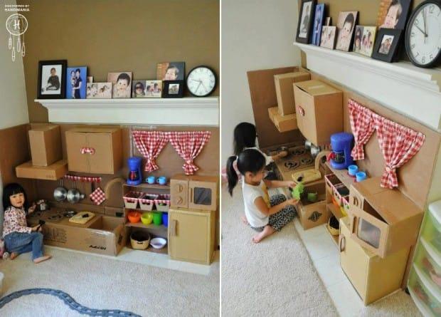 La cucina per i bambini realizzata con il fai da te | Non Sprecare
