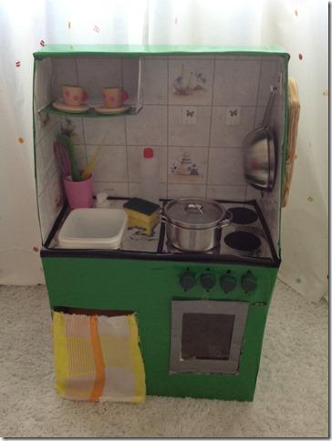 la cucina fatta di carta