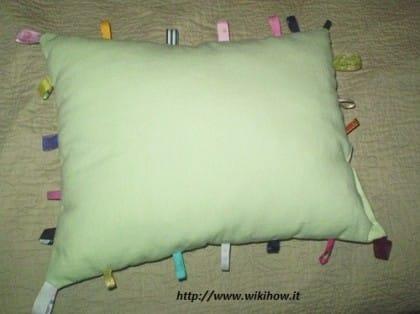 cuscino tessuto fai da te