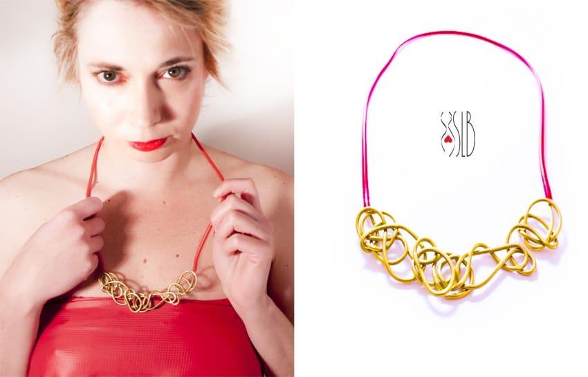 Gioielli fatti con materiali di recupero e made in italy for Designer gioielli