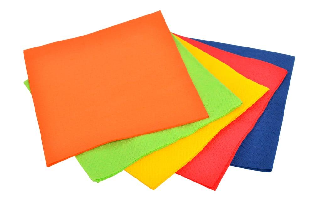 come riutilizzare i tovaglioli di carta