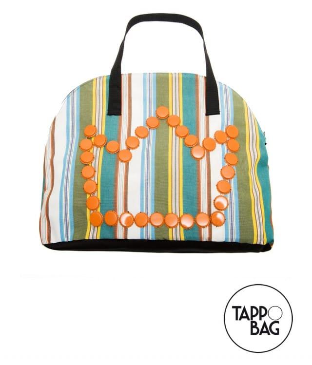 Borse Di Plastica Di Moda : Borse con materiali di riciclo ecco le tappo bag non
