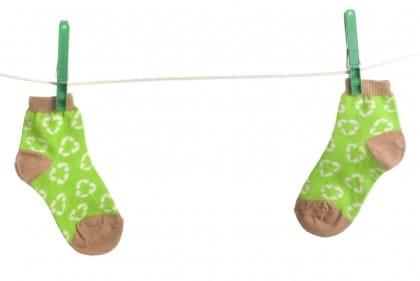 RIciclo dei calzini spaiati
